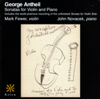 George Antheil: Sonatas for Viloin & Piano